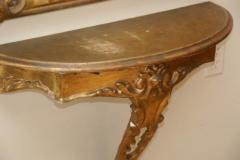 Early 20th c Giltwood Console - 639832