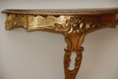 Early 20th c Giltwood Console - 639835
