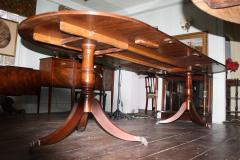 Early Edwardian Double Pedestal Dining Table - 1464790