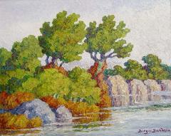 Early Fall Smoky Hill River Kansas - 135068