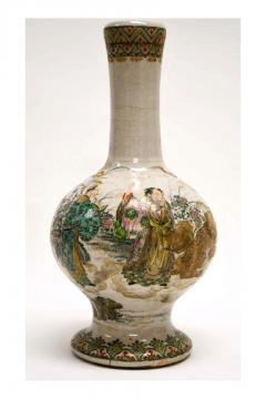 Early Japanese Satsuma Vase 19th Century - 1099803