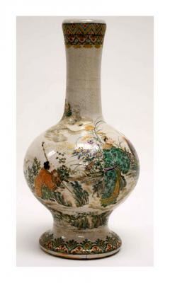 Early Japanese Satsuma Vase 19th Century - 1099804