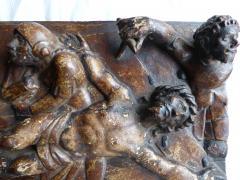 Early Spanish Panel on Chestnut Wood - 346456