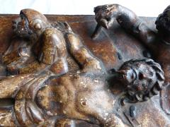 Early Spanish Panel on Chestnut Wood - 346457