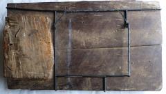 Early Spanish Panel on Chestnut Wood - 346459