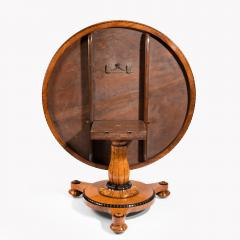 Early Victorian amboyna centre table - 823767