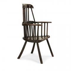 Early Welsh Primitive Windsor Armchair - 2068095