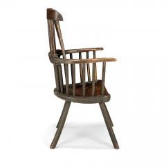 Early Welsh Primitive Windsor Armchair - 2068097