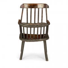 Early Welsh Primitive Windsor Armchair - 2068098