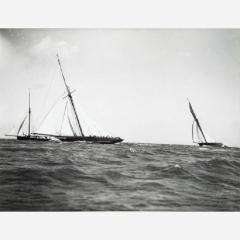 Early silver gelatin photo print by Beken of Cowes Yacht Maid Marion - 810999