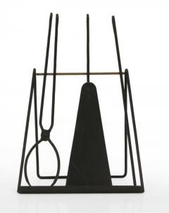 Easel Standing Fireplace Tool Set by Illums Bohlighus - 774522