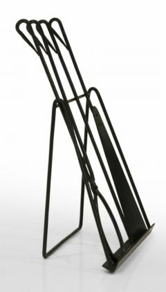 Easel Standing Fireplace Tool Set by Illums Bohlighus - 774523