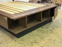 Eben Blaney Custom Queen Bed with Storage - 1180770