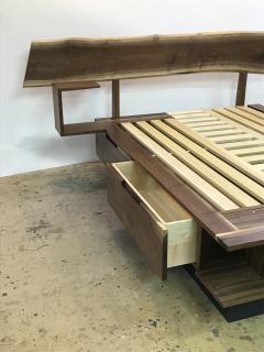 Eben Blaney Custom Queen Bed with Storage - 1180772