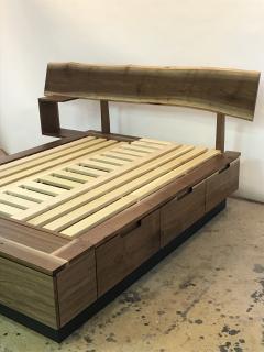 Eben Blaney Custom Queen Bed with Storage - 1180773