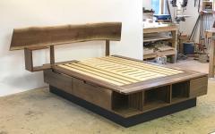 Eben Blaney Custom Queen Bed with Storage - 1180775