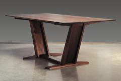 Eben Blaney Leaning Trestle Dining Table - 1041227
