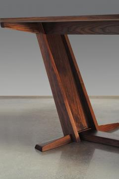 Eben Blaney Leaning Trestle Dining Table - 1041228