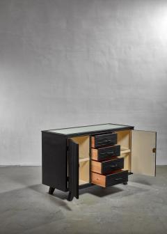 Ebonized oak sideboard by Angraves - 1065327