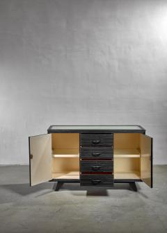 Ebonized oak sideboard by Angraves - 1065331