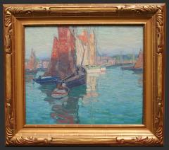 Edgar Alwin Payne Brittany Boats - 376768