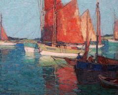 Edgar Alwin Payne French Tuna Boats - 1941177