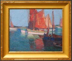 Edgar Alwin Payne French Tuna Boats - 1941178