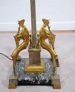 Edgar Brandt Art Deco Floor Lamp in the manner of Edgar Brandt - 452429