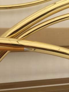 Edgar Brandt Art Nouveau Style Brass King Size Bed - 449977