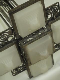 Edgar Brandt Edgar Brandt Art Deco Ceiling Fixture - 113996
