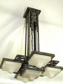 Edgar Brandt Edgar Brandt Art Deco Ceiling Fixture - 113997