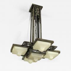 Edgar Brandt Edgar Brandt Art Deco Ceiling Fixture - 114414