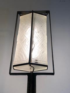 Edgar Brandt Exceptional Edgar Brandt French Art Deco Floor Lamp - 1031985