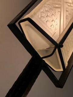 Edgar Brandt Exceptional Edgar Brandt French Art Deco Floor Lamp - 1031987