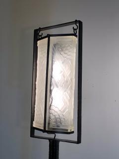 Edgar Brandt Exceptional Edgar Brandt French Art Deco Floor Lamp - 1031988
