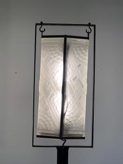 Edgar Brandt Exceptional Edgar Brandt French Art Deco Floor Lamp - 1031990