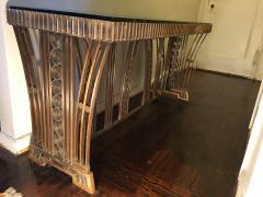 Edgar Brandt Incredible Modernist Bronze Art Deco Console Table by Edgar Brandt - 409991
