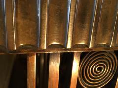 Edgar Brandt Incredible Modernist Bronze Art Deco Console Table by Edgar Brandt - 409998