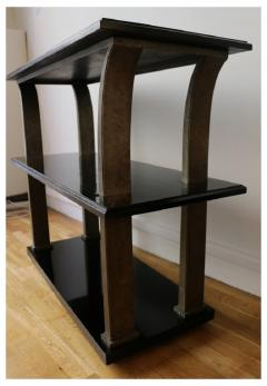 Edgar Brandt Stunning Metal and Wood Console by Edgar Brandt Art Deco France 1920 s - 911524