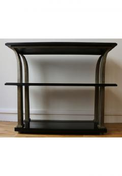 Edgar Brandt Stunning Metal and Wood Console by Edgar Brandt Art Deco France 1920 s - 911525