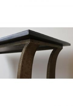 Edgar Brandt Stunning Metal and Wood Console by Edgar Brandt Art Deco France 1920 s - 911528