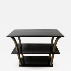 Edgar Brandt Stunning Metal and Wood Console by Edgar Brandt Art Deco France 1920 s - 912656