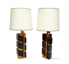 Edith Norton Unique Pair of Modernist Table Lamps by Edith Norton - 1128991