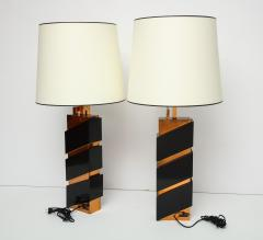 Edith Norton Unique Pair of Modernist Table Lamps by Edith Norton - 1128997