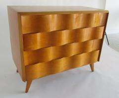 Edmond Spence American Modern Birch and Maple Wavefront Dresser - 1239827