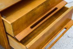 Edmond Spence Pair of American Modern Birch Bedside Cabinets Sir Edmond Spence - 373143