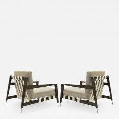 Edmond Spence Rare Edmond Spence Strapped Lounge Chairs - 1119168