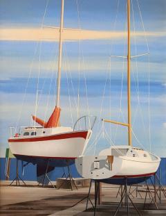 Edmund D Lewandowski Sail Boats - 456034
