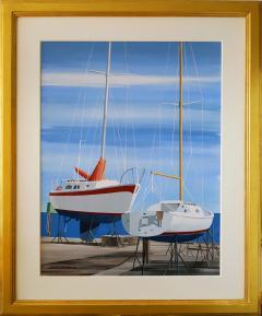 Edmund D Lewandowski Sail Boats - 456035