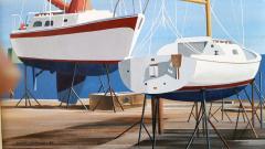Edmund D Lewandowski Sail Boats - 456036